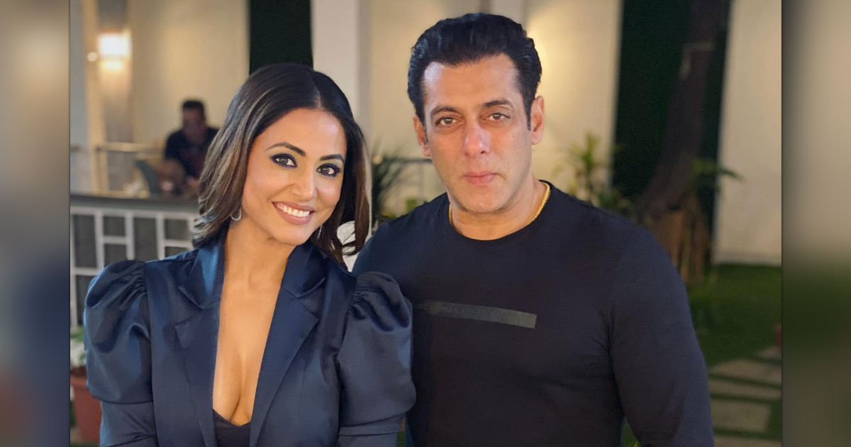 When Salman Khan Had An Epic Reply To Magazine Editor's 'Chandivali Studios' Comment On Hina Khan's Cannes Red Carpet Debut