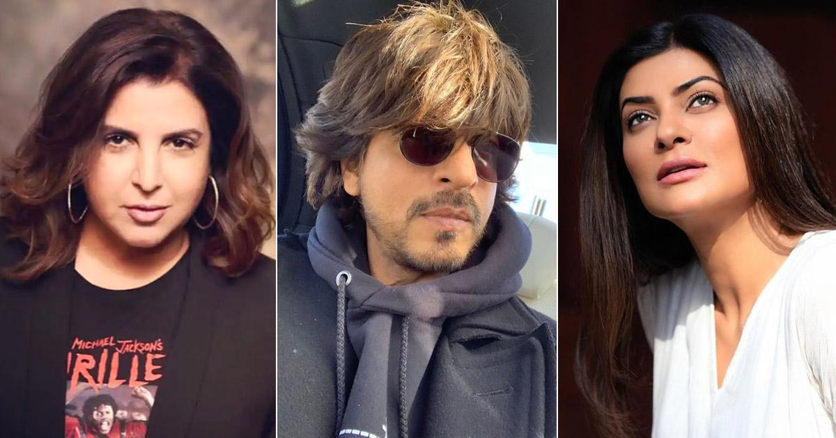 When Shah Rukh Khan Gave Neck Massage To Farah Khan On The Set Of Main Hoon Na
