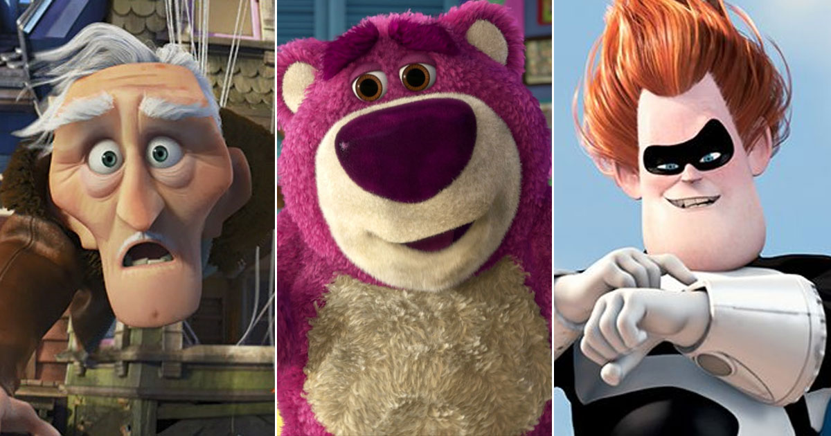 While Pixar Has Quite A Few Loving Heroes, We Are Also In Awe Of Their Villains Like Syndrome, Lots-O'-Huggin' Bear & More