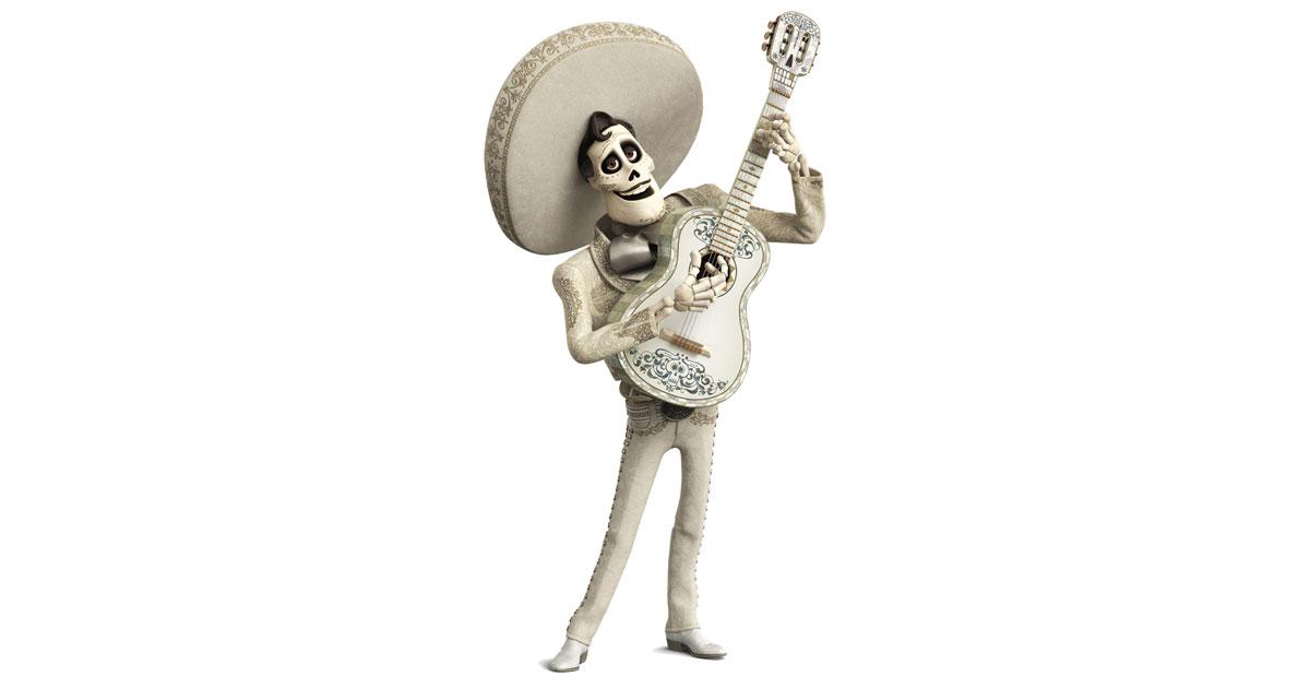 Ernesto De La Cruz From The Pixar Film Coco