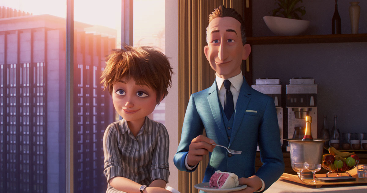 Evelyn Deavor In A Still From Pixar's Incredibles 2