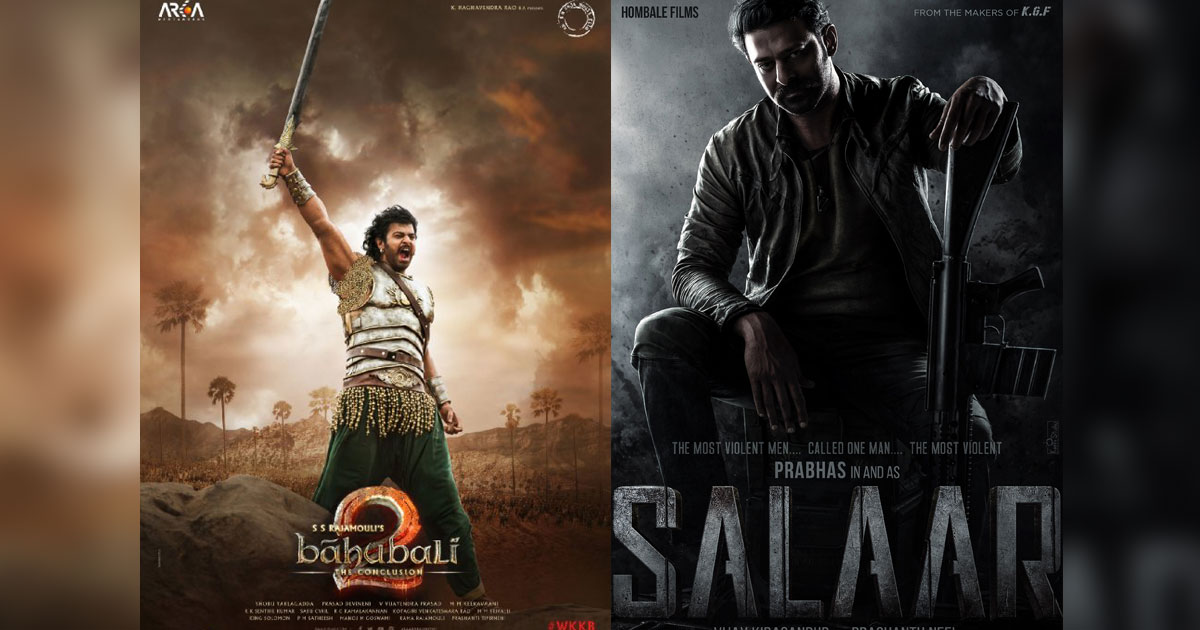With Salaar, Prabhas To Break His Own Record Of Baahubali 2