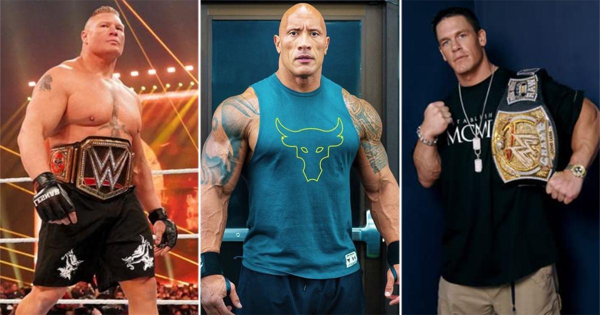 Brock Lesnar, John Cena Or Dwayne Johnson AKA The Rock? Who Will Receive The Biggest Pop At Wrestlemania 37