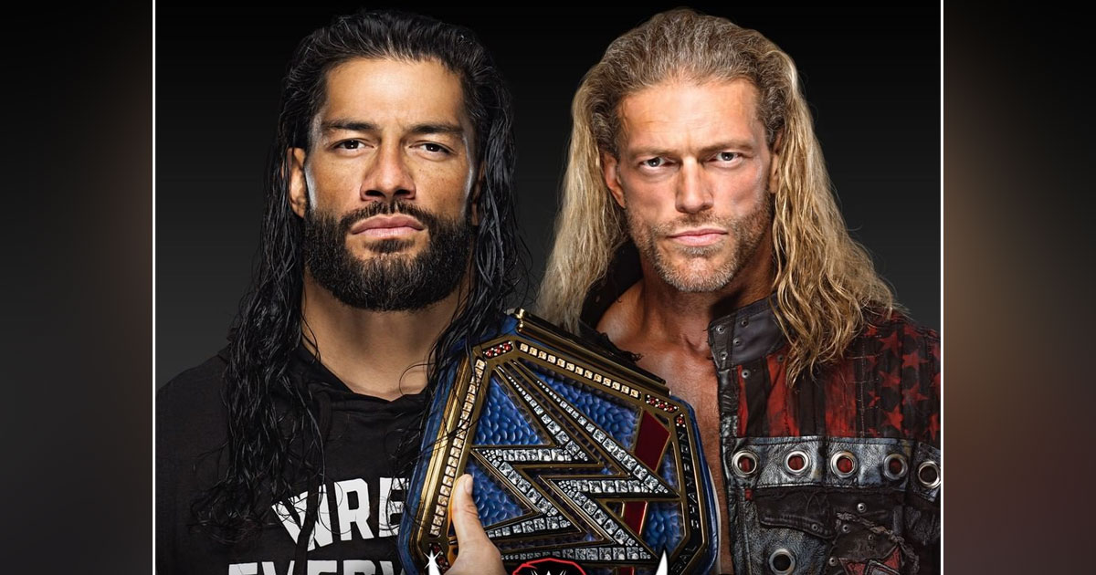 Change In Roman Reigns vs Edge Wrestlemania 37 Match?