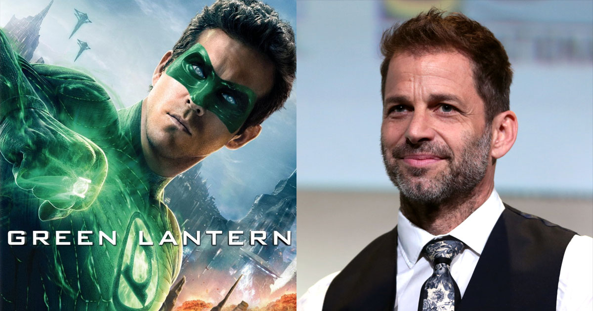 Zack Snyder Was Planning To Have Ryan Reynolds' Green Lantern In His Justice League