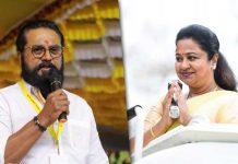 Actor couple Sarathkumar-Radhikaa sentenced to jail for bouncing cheque
