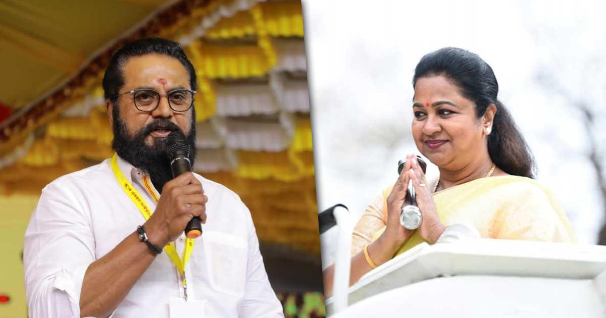 R Sarathkumar & Wife Radhikaa Sentenced To 1-Year Jail Term In Cheque Bouncing Case!