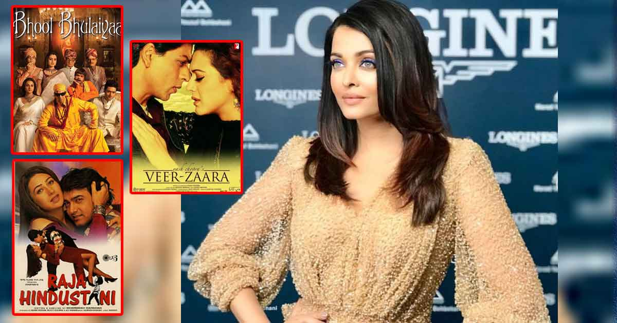 From Raja Hindustani & Veer Zaara To Bhool Bhulaiyaa & More – Check Out These Films Aishwarya Rai Bachchan Was Originally Supposed To Star In