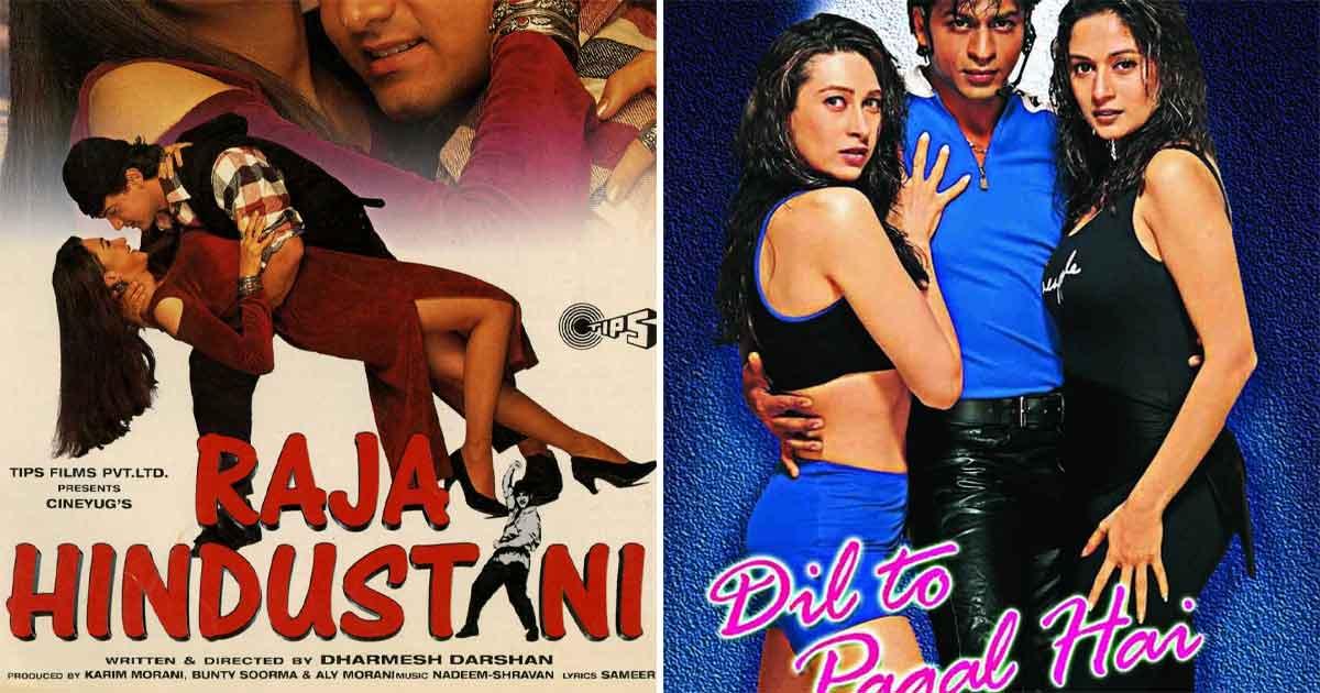Raja Hindustani (1996) & Dil To Pagal Hai (1997)