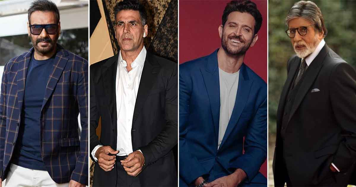 Bollywood Actors Like Amitabh Bachchan, Hrithik Roshan, Ajay Devgn, Akshay Kumar & More Are Proud Owners Of Private Planes