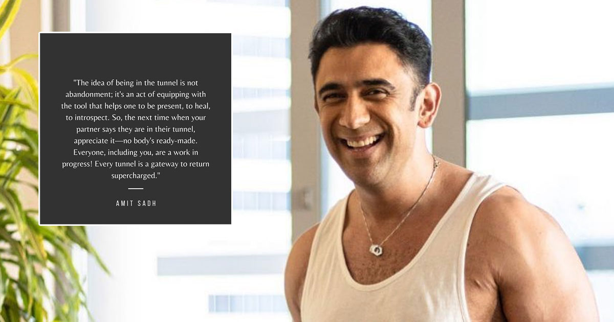 Amit Sadh's Thought Of The Day Is Bright & Full Of Positivity, Read On