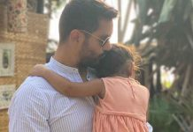 Angad Bedi on why he avoids showing daughter's face on social media