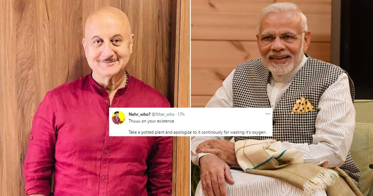 "Anupam Kher Mercilessly Trolled Over His ""Ayega Toh Modi Hi"" Tweet!"