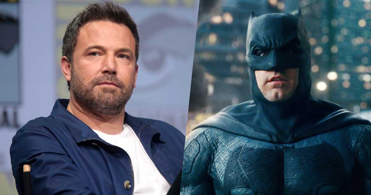 Ben Affleck Bidding Goodbye To Batman After The Flash?