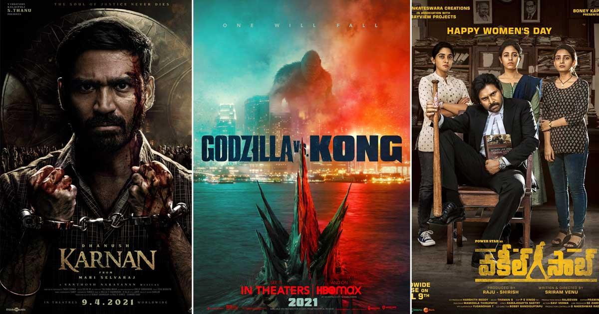 Godzilla vs Kong Box Office Update: Enters The 50 Crore Club, Facing Competition From Dhanush's Karnan & Pawan Kalyan's Vakeel Saab
