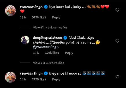 Deepika Padukone is hubby Ranveer Singh's 'elegance ki moorat'