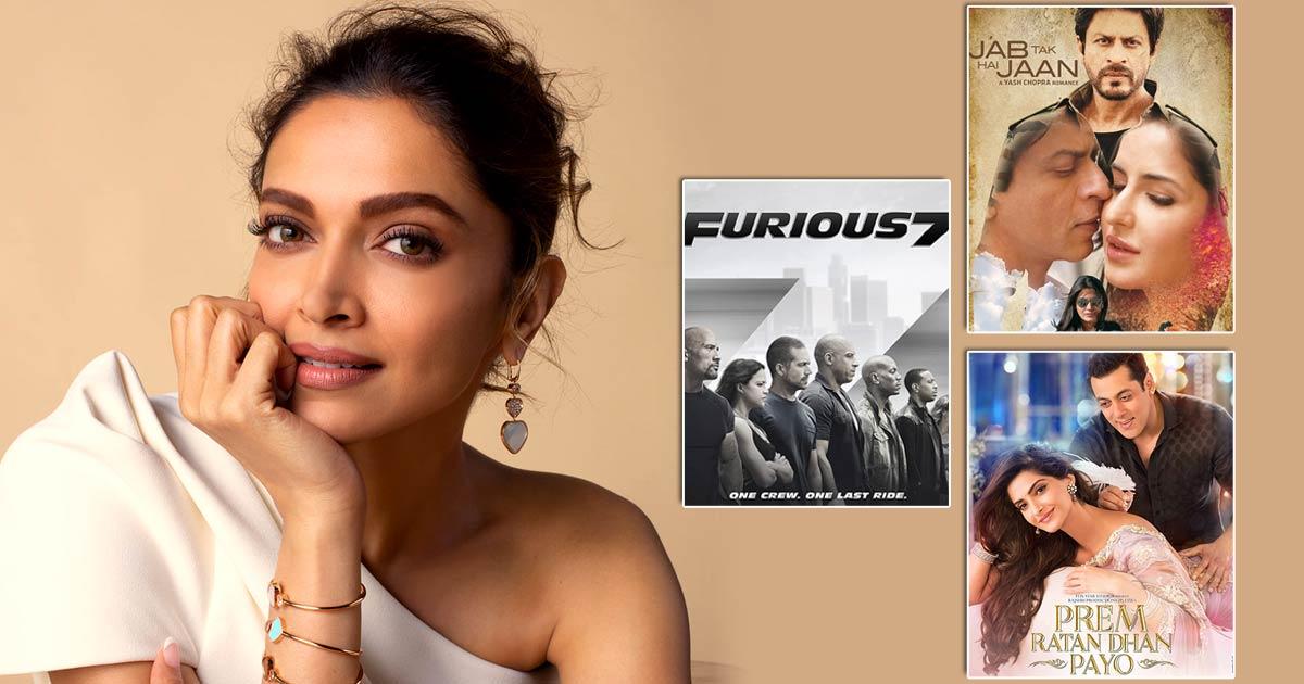 Deepika Padukone Was Supposed To Star In Blockbusters Like Furious 7, Jab Tak Hai Jaan, Prem Ratan Dhan Payo & More