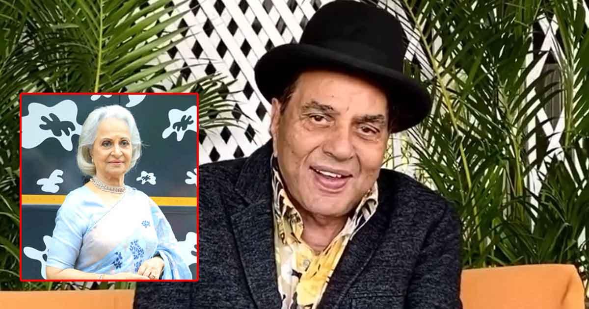 """Dharmendra Reveals His Crush On Waheeda Rehman & Says, """"Sara Zamana Inpe Fida Tha Thode Hum Bhi Fida The…"""" - Watch"""
