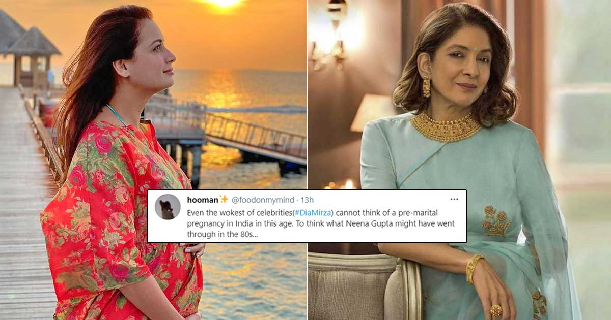 Dia Mirza Trolled For Announcing Pregnancy Within 2 Months Of Marriage, Twitterati Remember Neena Gupta's Struggle In The 80s, Read On