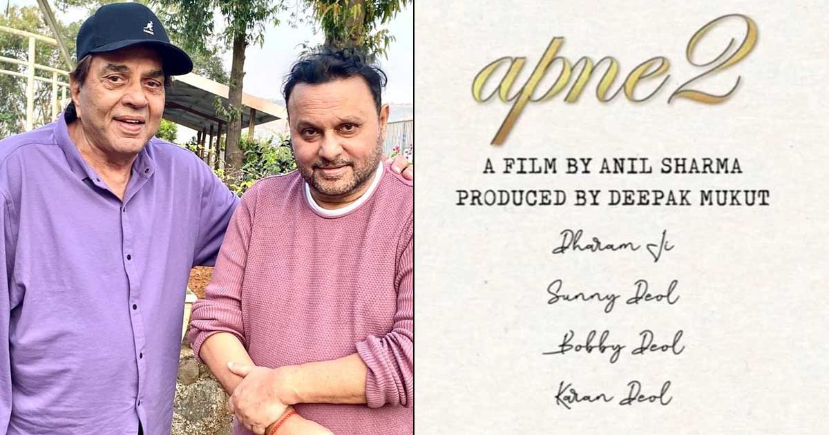 Director Anil Sharma Postpones Apne 2 Shoot Citing Dharmendra's Health Is More Important Than Film's Shoot Schedule