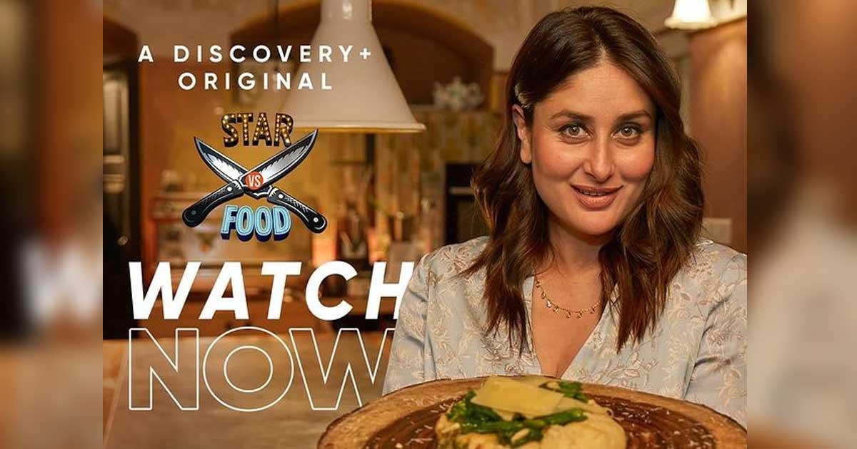 Discovery Plus' Star VS Food Episode 1 Ft. Kareena Kapoor Khan