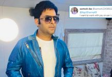 "Fan Tells Kapil Sharma ""I Want To Work With You""; Comedian Responds ""Abhi Toh Mai Ghar Baitha Hu"""