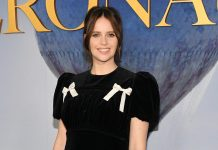 Felicity Jones says it's 'scary' to have a baby in pandemic
