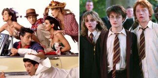 FRIENDS Meet Harry Potter In This Mashup Post Proving How Art Could Make Two Contrasting Worlds Meet!