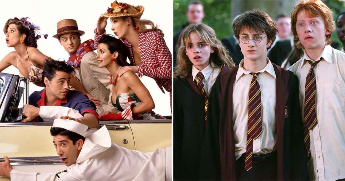 FRIENDS Meet Harry Potter In This Mashup Post: Similarities Between Chandler-Monica & Ginny Weasley-Harry Potter Will Blow Your Mind!