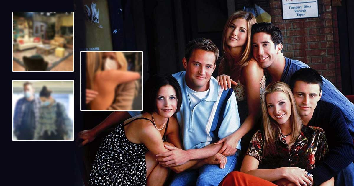 FRIENDS Reunion Pictures Leaked: From The Iconic 'Couch' To A Mask-Clad Cast - We're Not Crying, You're - Check Out!