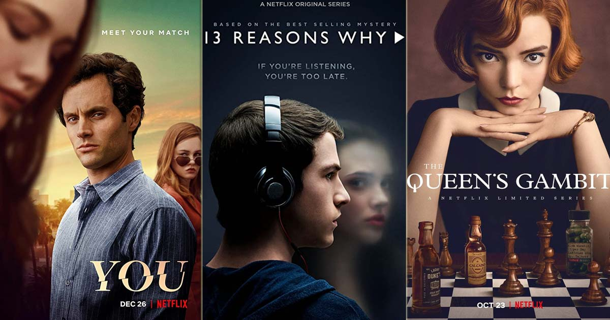From 13 Reasons Why To You & The Queen's Gambit; Here Are 7 Netflix Series Not Many Know Are Books Adaptations