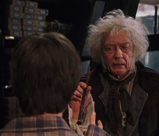 John Hurt Essayed The Role Of Garrick Ollivander In The Harry Potter Movies