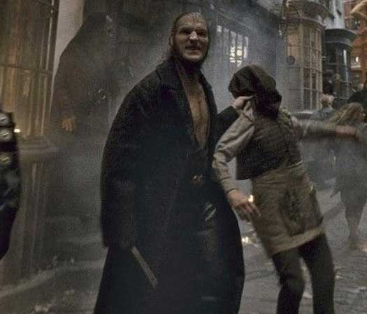 Dave Legeno As Fenrir Greyback In The HP Movies