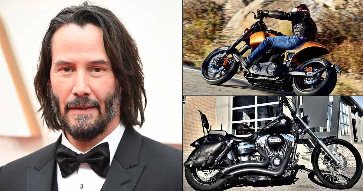 From Arch Motorcycle KRGT-1 To Harley Davidson: Take A Look At Keanu Reeves Motorbike Collection