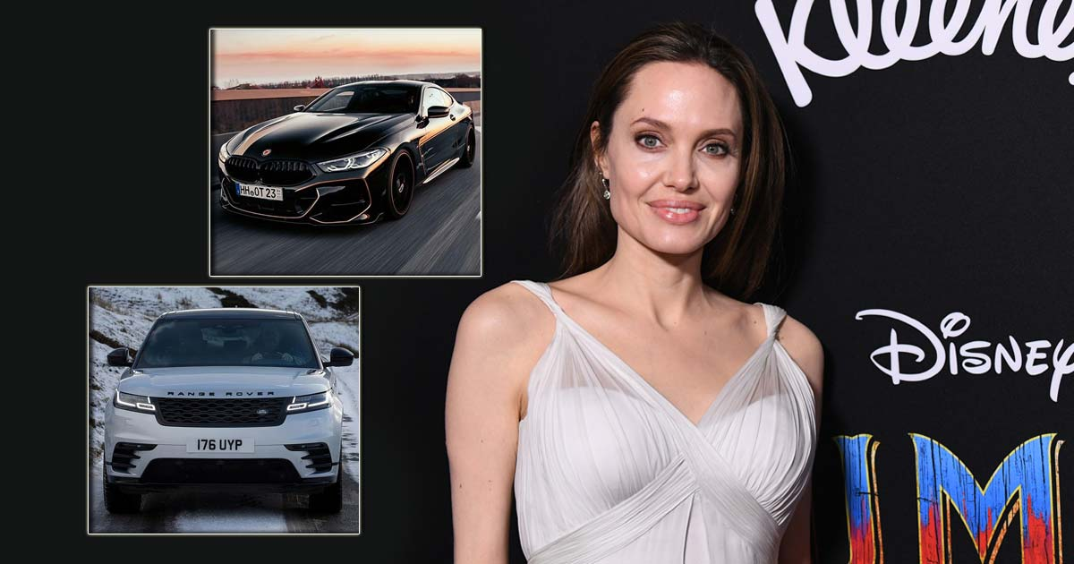 From BMW Hydrogen 7 To Range Rover Rogue: Take A Look At Angelina Jolie Car Collection