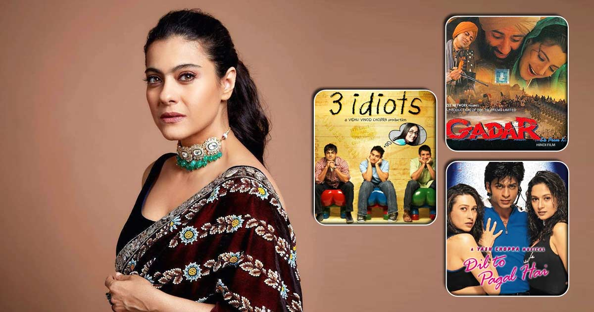 From Dil Toh Pagal Hai To 3 Idiots, Gadar & More, Check Out These Fan Favourite Roles Kajol Rejected Playing