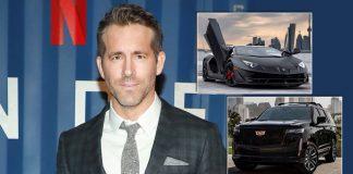 From Lamborghini Aventador To Cadillac Escalade: Ryan Reynolds Has A Serious Collection Of Rides