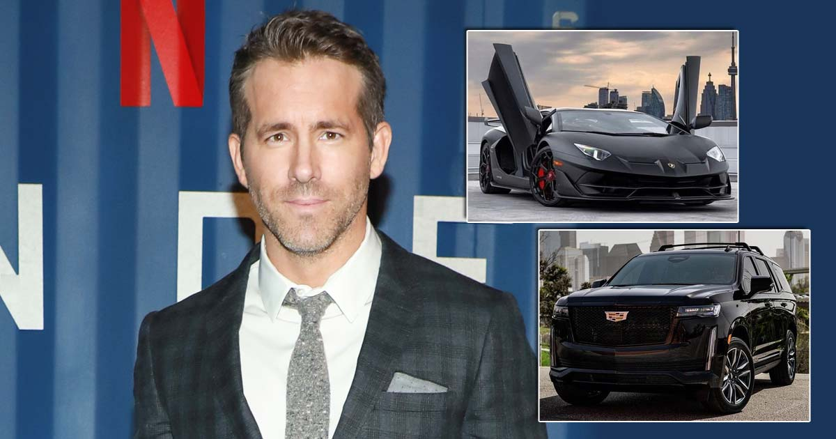 Ryan Reynolds' Car Collection: From Lamborghini Aventador To Cadillac Escalade, The Deadpool Actor Sure Did A Remarkable Superhero Landing With His Wheels