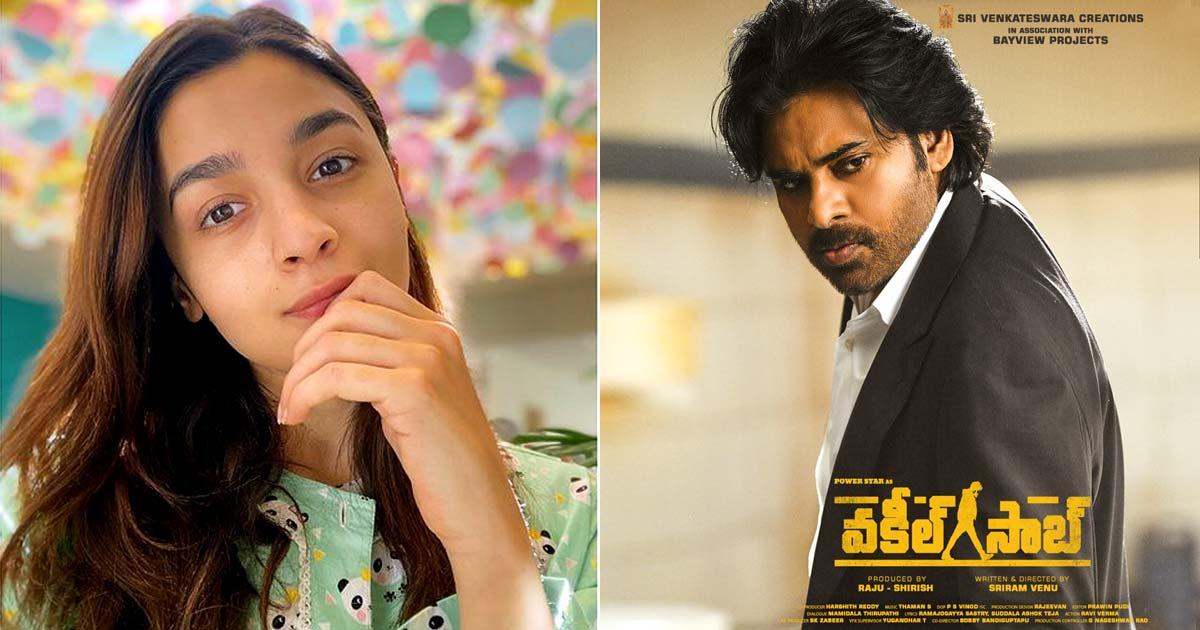 Alia Bhatt's Gangubai Kathiawadi Telugu Teaser To Be Attached With Pawan Kalyan's Vakeel Saab, Read On