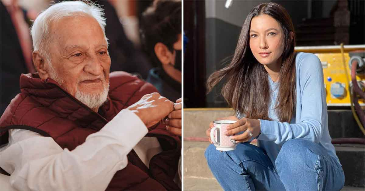Gauahar Khan remembers dad on one-month anniversary
