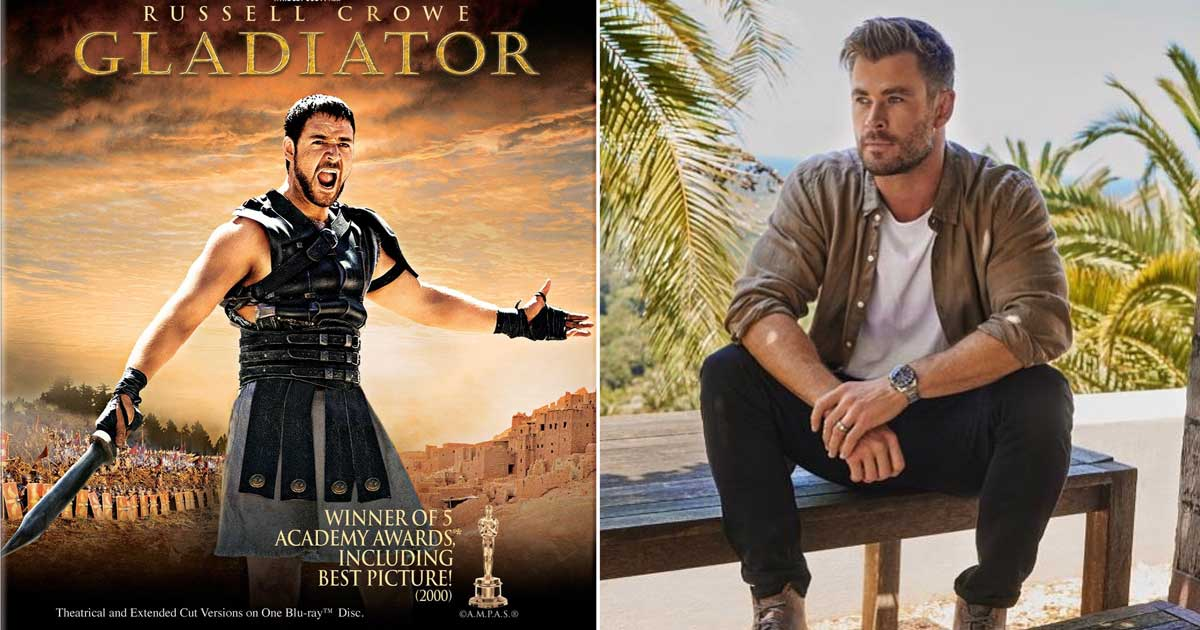 Chris Hemsworth Approached For Gladiator 2, Russell Crowe Wants Him To Play His Son?