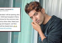 Gurmeet Choudhary to open Covid hospitals in Lucknow, Patna