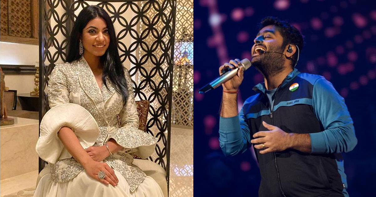 Himani Kapoor: Arijit Singh is always open to inputs and that sets him apart