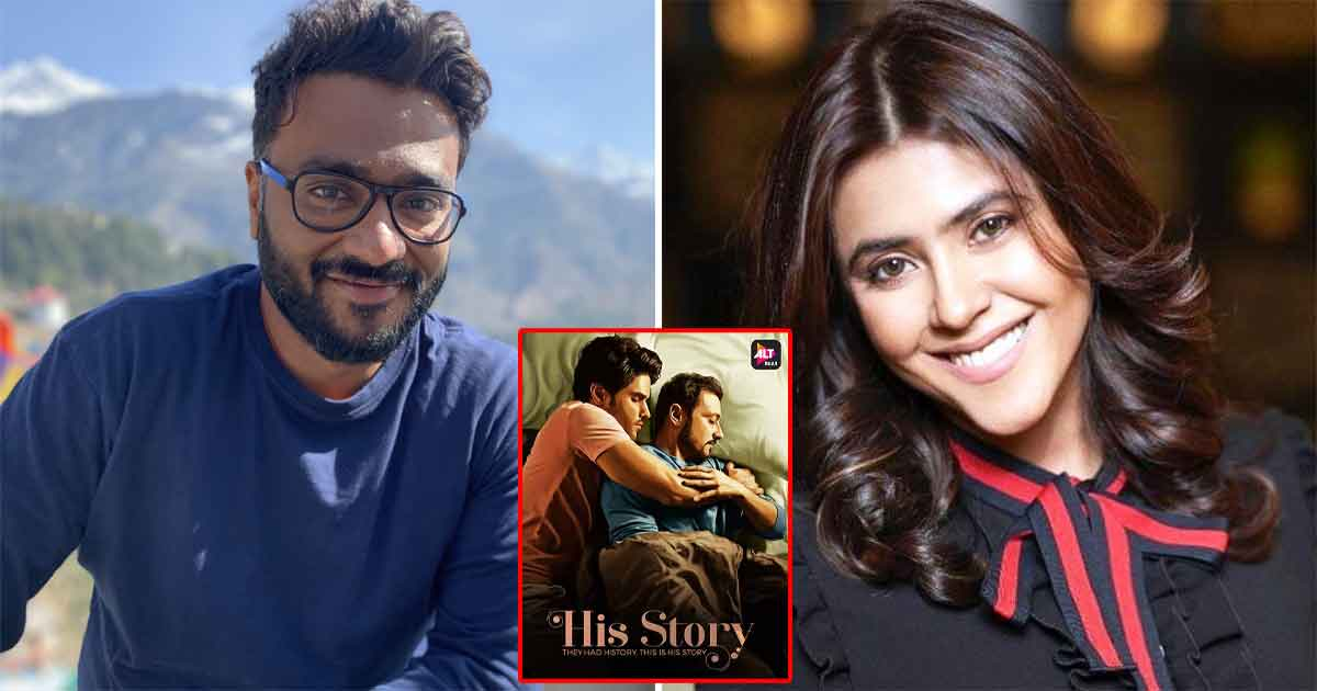 'His Storyy' poster controversy: Sudhanshu Saria isn't satisfied with Ekta Kapoor's apology
