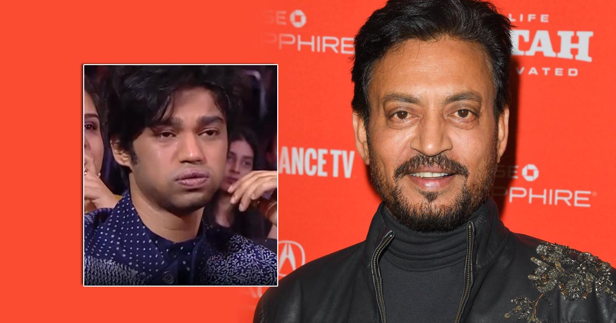 Irrfan Honoured By Filmfare, 'Spitting Image' Son Baabil Makes Everyone Shed A Bucket Full Of Tears