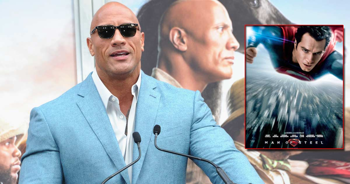 Dwayne Johnson To Go Against Warner Bros & Produce Man Of Steel 2?