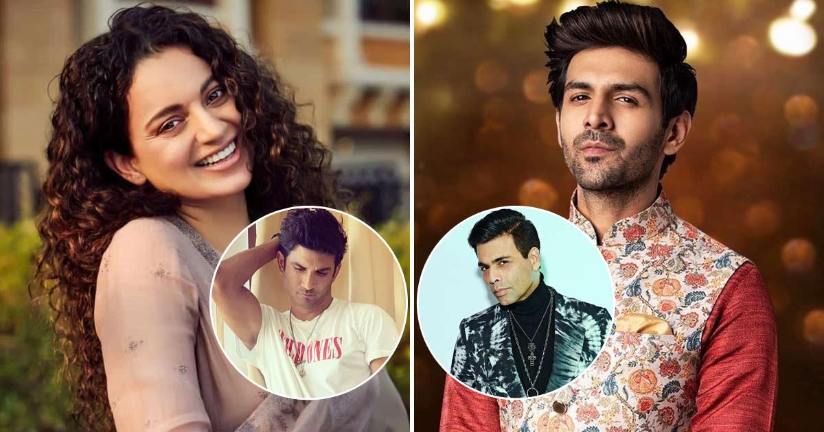 Kangana Ranaut Supports Kartik Aaryan, Calls Karan Johar 'Drama Queen'