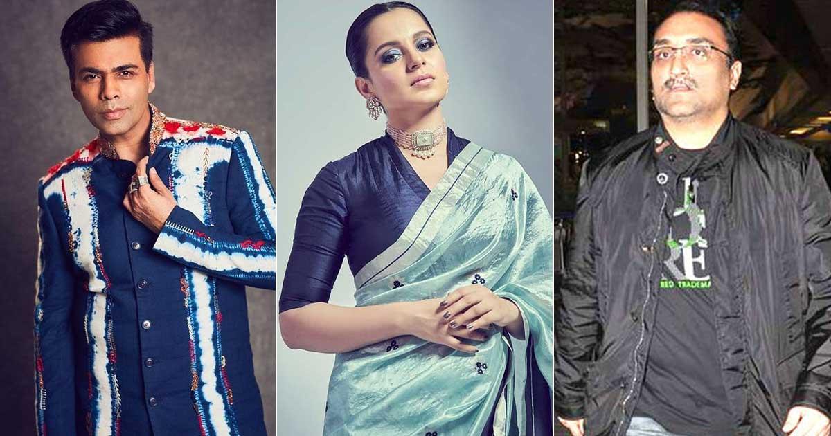 Kangana Ranaut Takes A Dig At Karan Johar & Aditya Chopra Yet Again