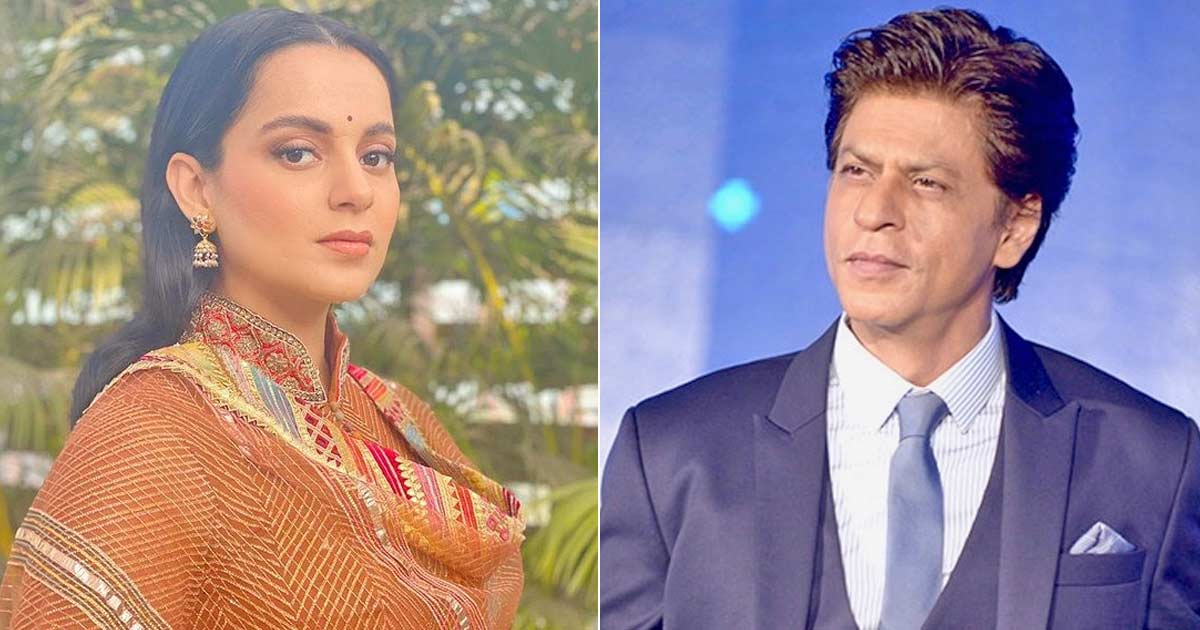 Kangana trolled for comparing herself to SRK