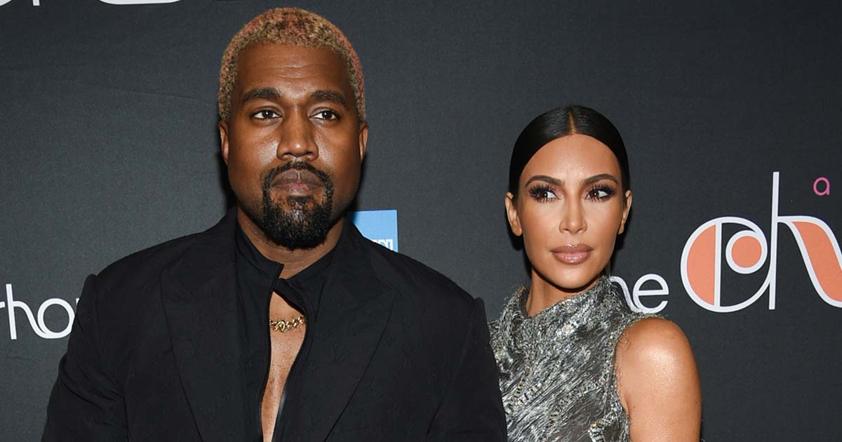 Kanye West Responds To Kim Kardashian's Divorce Filing & Agrees For A Joint Custody Of Kids